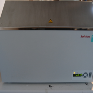 Offered for sale a Julabo TW20 waterbath. System is as new but offered at 50% of the new price.