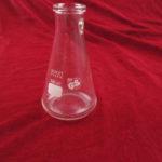 Erlenmeyer met olijfaansluiting (olijf ontbreekt)