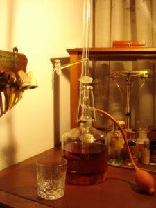 whisky-buret nieuwe bestemming voor automatische buret volgens Pellet