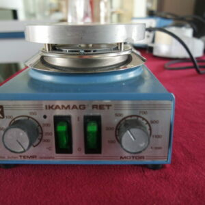 Used IKA Ikamag RET basic magnetic stirrer with heater