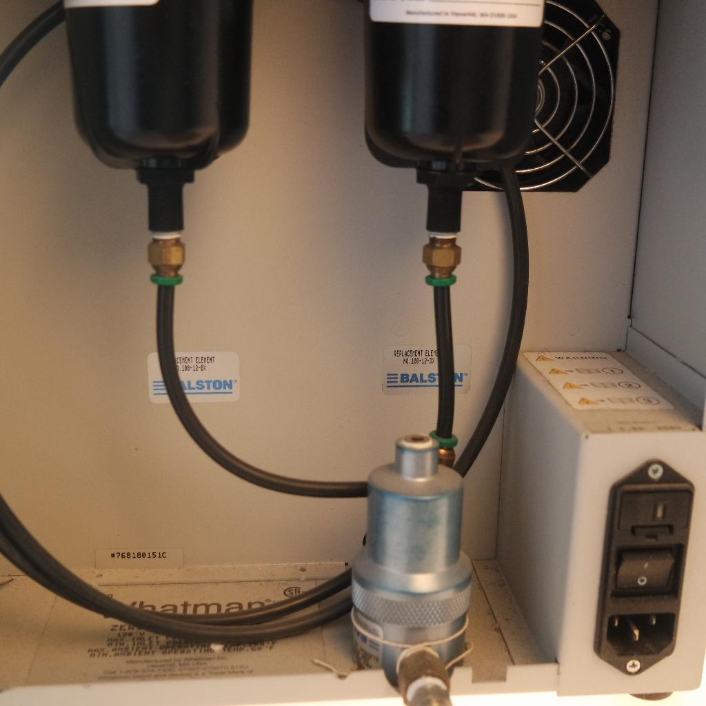 parker balston zero air generator manual