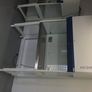 Offered for sale a used ductless fumehood, the ESCO Ascent Max. The former demosystem is offered at a sharp price.