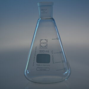 Erlenmeyer with small neck