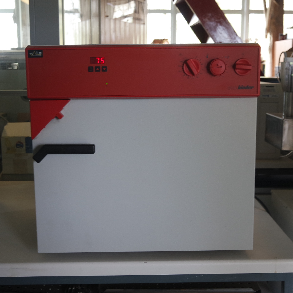 Used Drying Oven Wtc Binder Fd53 Small Dent S A Le