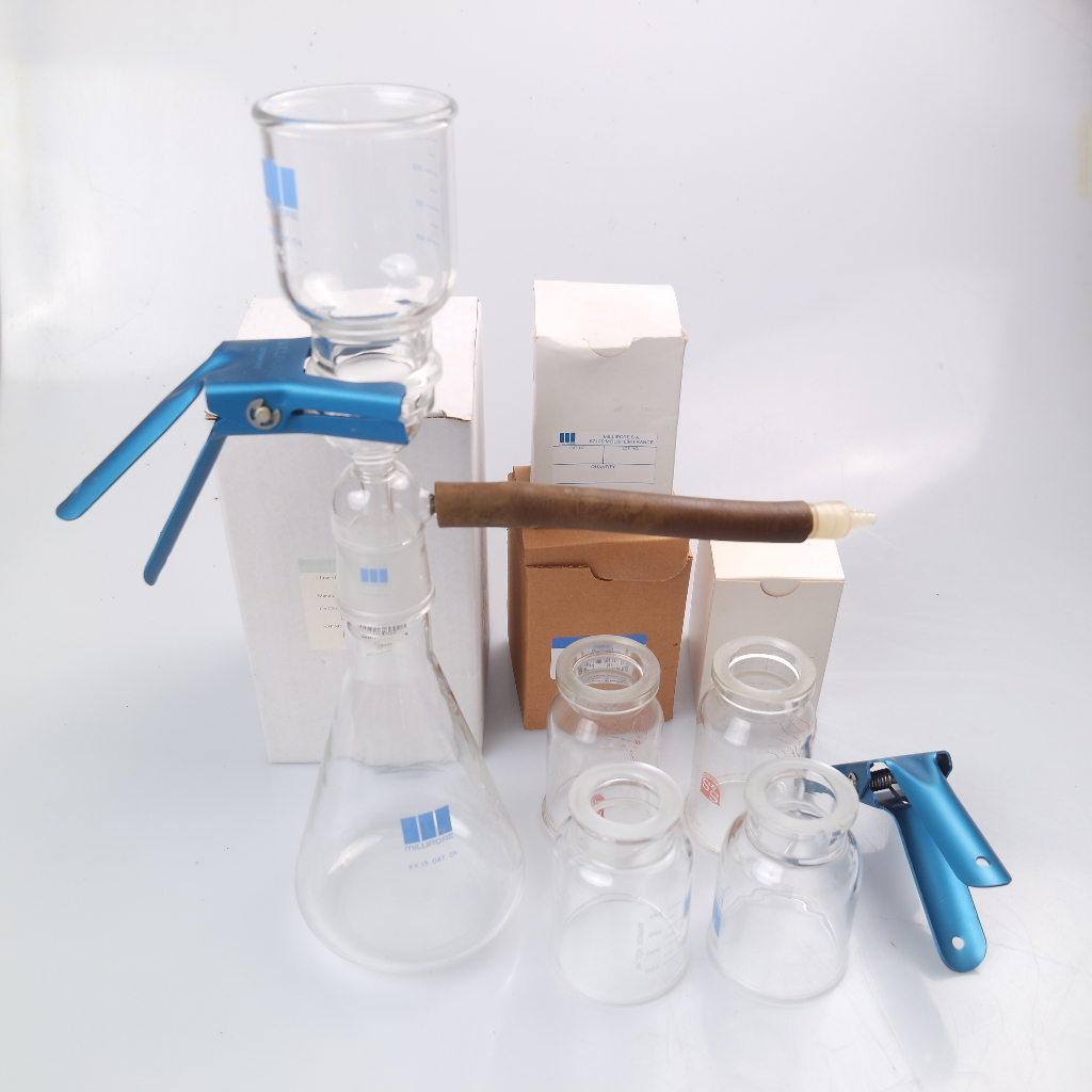 New Millipore Vacuum Filtration Unit