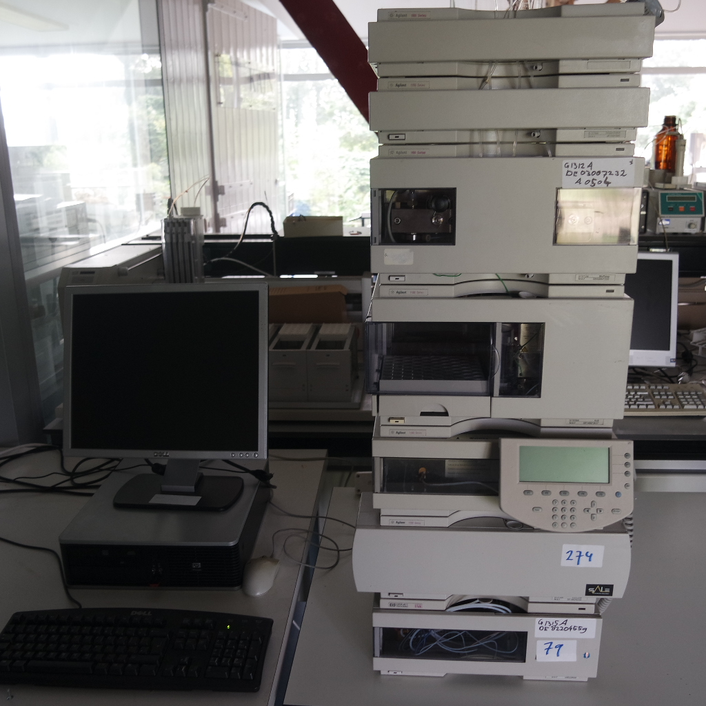 Gereviseerde tweedehands Agilent 1100 HPLC systemen met FLD detector