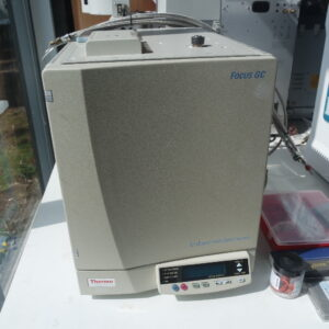 Used Thermo Focus GC system with S/SL inlet and FID detector (2013)