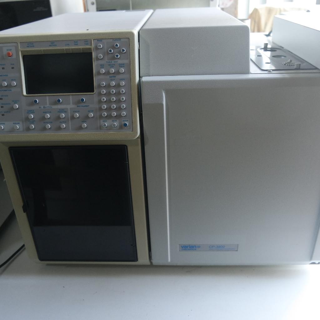 used varian cp 3800 gc system with 1177 split splitless injector rh s a le nl Tangled Evil Varian Varian Disney