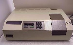 Used UV-VIS spectrophotometer, Perkin Elmer Lambda 2