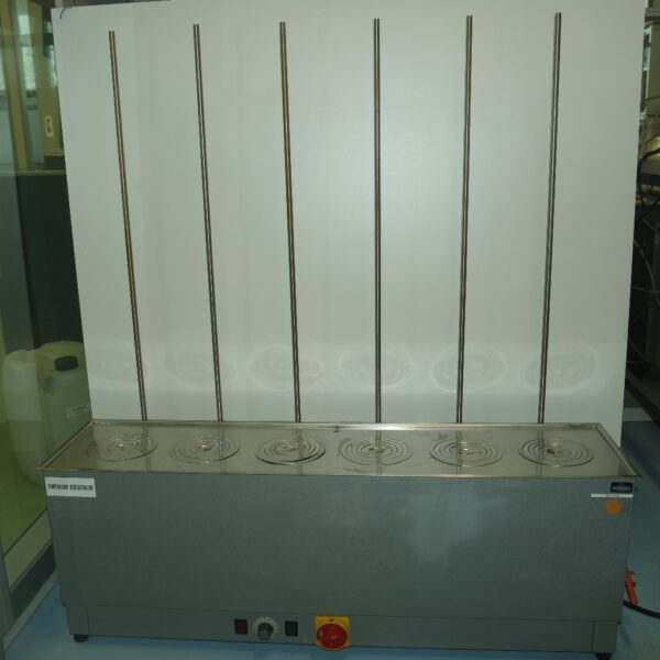 Used EW68 Waterbath with 6 position on three phase power