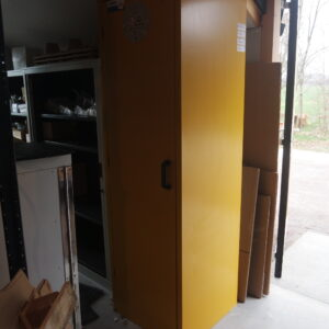 Used 30-minute fire protection cabinet Denios S-BASIC