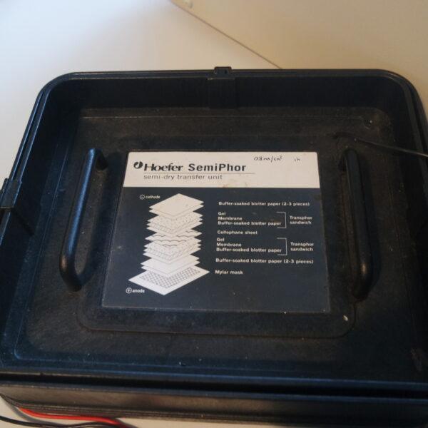 """spare parts"" Hoefer semiphor semi-dry transfer unit"