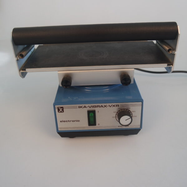 Used IKA VIBRAX VXR orbital shaker with VX8 plate