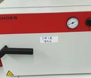 Our offered used heating oven Binder E28 makes it possible to apply a great range in temperatures. Temperature up to 230 degrees Celsius. Now €500