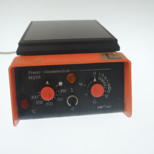 Used Framo Geratetechnik M21/1 magnetic stirrer with heater