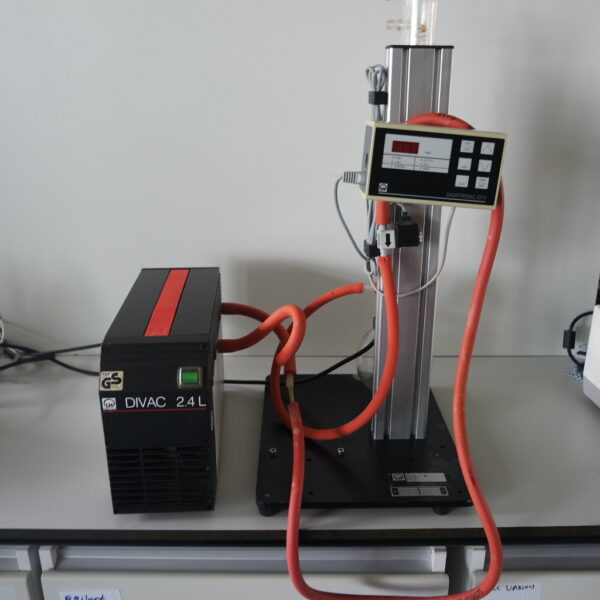 Tweedehands Divac 2.4L pomp met Drylab 2.4 KIT opstelling