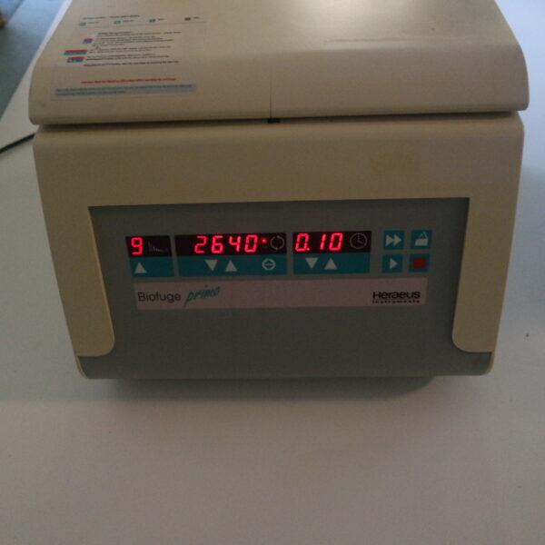 Used Heraeus Biofuge Primo