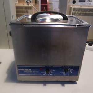 1117- Used ultrasoonbath including heating, Bandelin Sonorex Super RK510