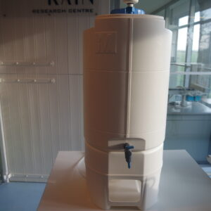 1144- Used Merck Millipore 60 liter PE tank