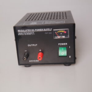1222- Used Voltcraft regulated dc power supply FSP 1243