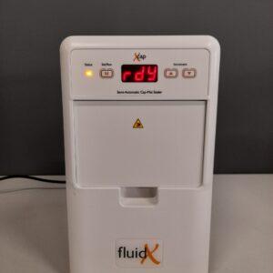 1314 - Used FluidX microplate capper X-Cap