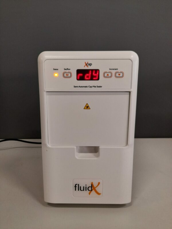 1314 - Used FluidX microplate capper X-Cap