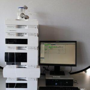 Refurbished Agilent 1200 HPLC system with VWD detector