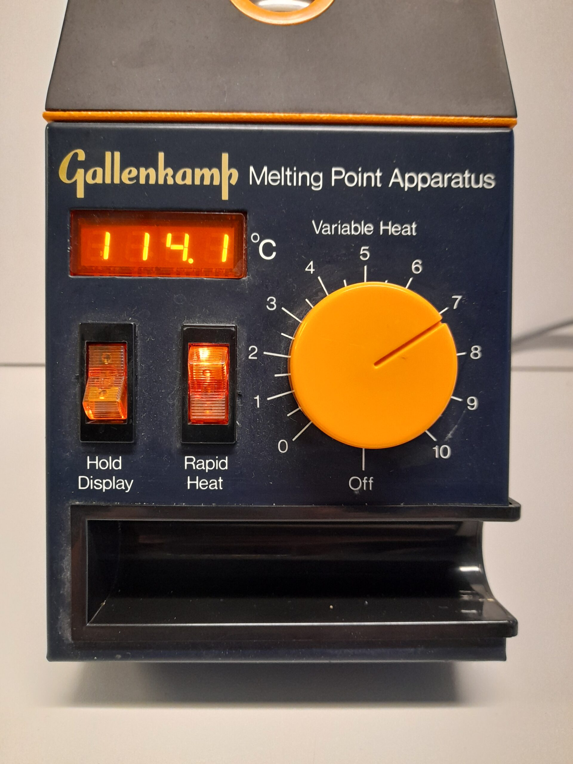 1367 - Used Gallenkamp Melting point apparatus - S-A-LE