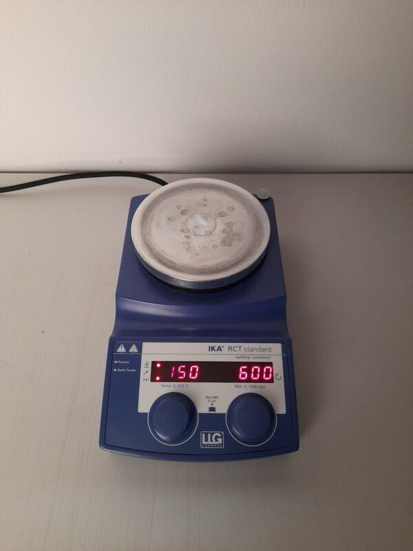 1382 - Used hotplate magnetic stirrer IKA RCT standard