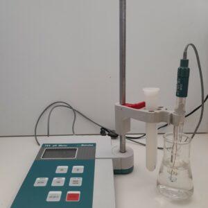 1406 - Used Metrohm pH meter 744