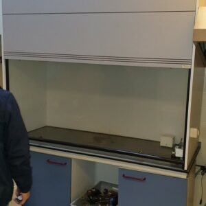 Used Interfurn fume hood