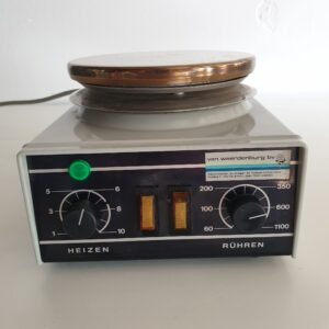 1448 - Used Heidolph hotplate with magnetic stirrer MR 82