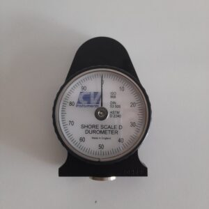 Used Shore scale D Durometer