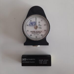 Used Shore scale A Durometer