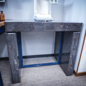 Tweedehands granieten laboratorium weegtafel
